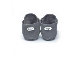 Walker Leather Basic Dark Grey 6 - 12 měsíců 3