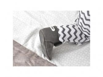 Walker Leather Basic Dark Grey 6 - 12 měsíců 4