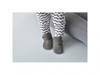 Walker Leather Basic Dark Grey 6 - 12 měsíců 7