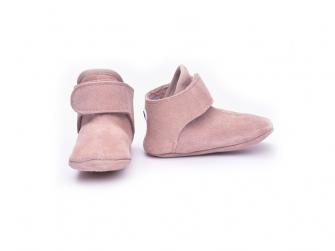 Walker Leather Basic Pink 3 - 6 měsíců 2
