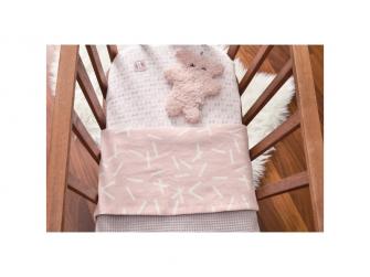 Dreamer Flannel/Honeycomb Blush 75x100 cm 2