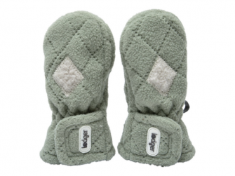 Mittens Fleece Scandinavian Forrest
