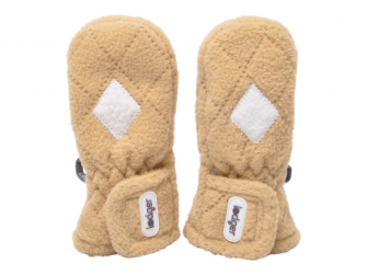 Mittens Fleece Scandinavian Sand