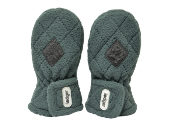 Mittens Fleece Scandinavian Sage