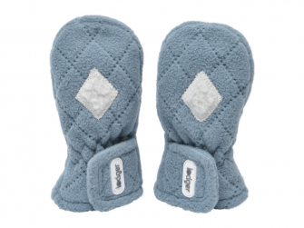 Mittens Fleece Scandinavian Ocean