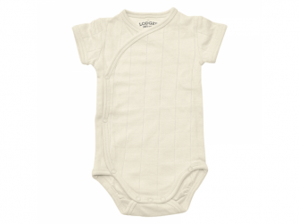 Body Romper Fold Over Solid Ivory vel. 56