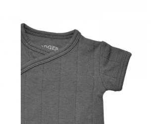 Body Romper Fold Over Solid Carbon vel. 56 3