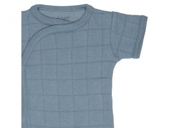 Romper Solid Short Sleeves Ocean vel. 62 3