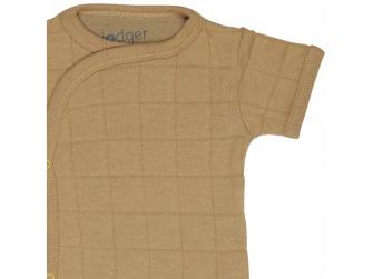 Romper Solid Short Sleeves Honey vel. 56 3