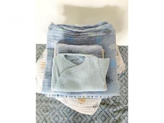 Romper Short Sleeves Ciumbelle Ocean vel. 68 5