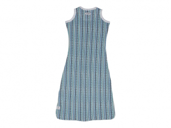 Hopper Sleeveless Stripe Xandu Dusty Turquoise vel. 68/80 2