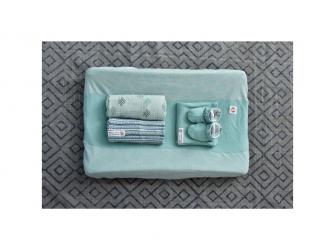 Swaddler Muslin Knot Xandu 120 x 120 cm Silt Green 4