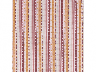 Swaddler Print/Solid 2balení 120 x 120 cm Sensitive/Stripe 3