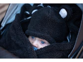 Hatter Teddy Black 3-6 měsíců 5