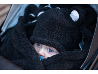 Hatter Teddy Black 6-12 měsíců 4