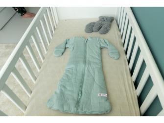 Hopper Sleeves Solid Silt Green 86/98 6