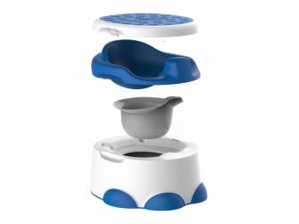 multifunkční nočník STEP´n POTTY Blue 2