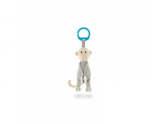 Pletené závěsné opice, modrá