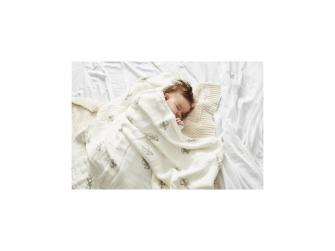 Luxusní bambusová deka, potisk Monkey 5