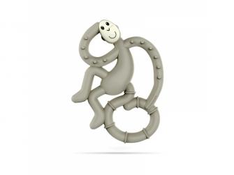 BioCote®  Mini Monkey Teether, šedá