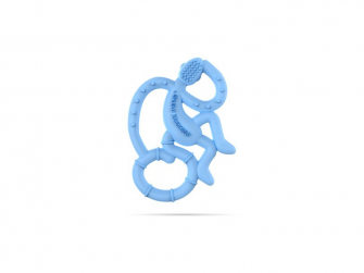 BioCote® Mini Monkey Teether, Modrá 2