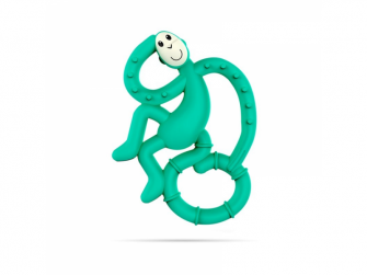 BioCote® Mini Monkey Teether, Zelená