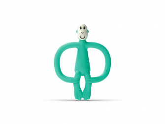 Kosátko a zubní kartáček bez ocásku, zelená