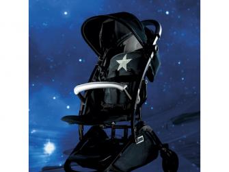 Kočárek Star Disco black 8
