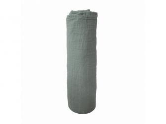 mušelínová zavinovačka z organické bavlny Roman Green