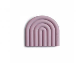 silikonnové kousátko RAINBOW, Mauve