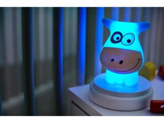 LED noční světlo, cow 7