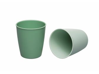 GREEN line kalíšek, 2ks, green/light green 2