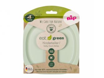 GREEN line talířek, 2ks, green/light green