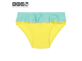 plavky s UV ochranou nohavičky 6 m, žlutá zelená