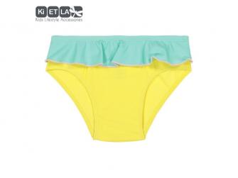 plavky s UV ochranou nohavičky 12 m, žlutá zelená