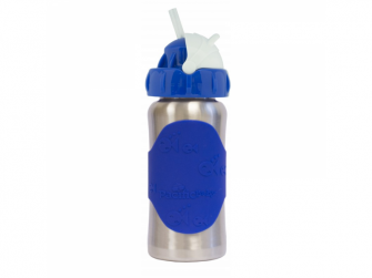 Hot-Tot Termoska s brčkem 260 ml Modrá