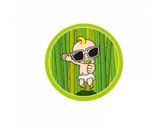 Bambusová miska velká 2 ks Krémová 4
