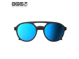 Dětské sluneční brýle CraZyg-Zag 9-12 let pilotky - černé zrcadlovky 2