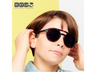 Dětské sluneční brýle CraZyg-Zag 9-12 let pilotky - hnědé 7