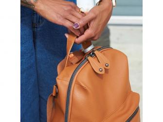 HARTLAND PACK hnědý - přebalovací batoh 5