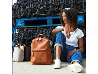 HARTLAND PACK hnědý - přebalovací batoh 6