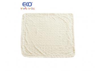 Dětská deka 80x90 RŮŽIČKA écru