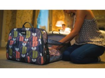Cestovní a přebalovací taška POD 2 v 1 včeličky 10
