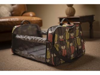 Cestovní a přebalovací taška POD 2 v 1 včeličky 7