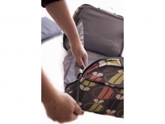 Cestovní a přebalovací taška POD 2 v 1 včeličky 5
