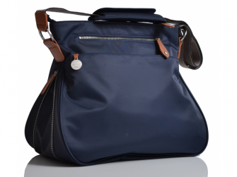PORTLAND modrá - kabelka i přebalovací taška