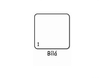 Komoda Olina 70x87x87 Bílá