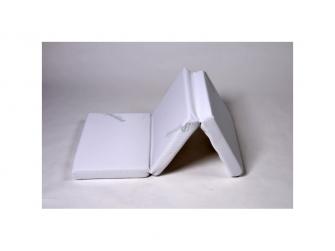 Matrace Skládací potah Puppolina 120x60x6 Bílá