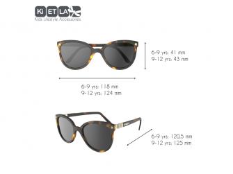 Dětské sluneční brýle CraZyg-Zag 9-12 let - hnědé 3