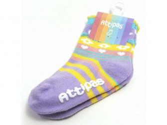 Ponožky Attibebe, Pink 2